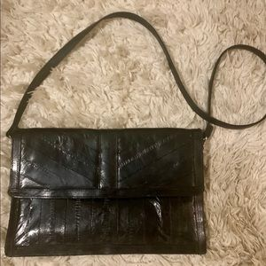 Vintage Leather Crossbody Purse